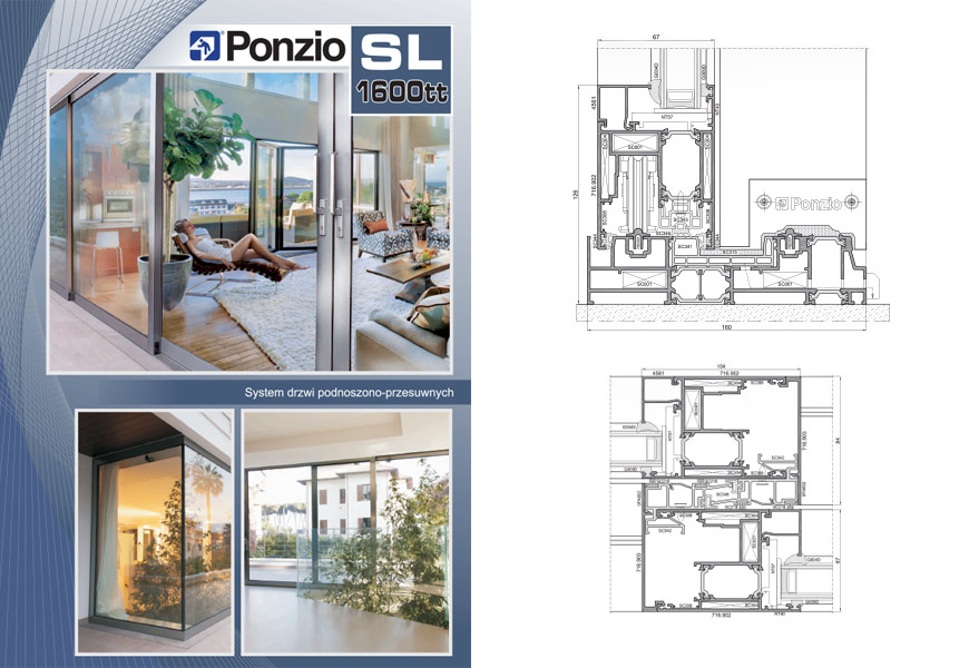 Broszura Ponzio SL 1600tt