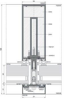 Ponzio PF152 PPOŻ - rysunek techniczny 2